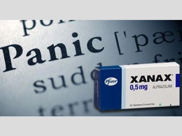 Xanax-pánik