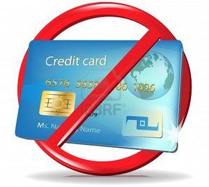 Ne használj bankkártyát, ha bevásárolni vagy ebédelni, vacsorázni mész. Nem tesz jót az alakodnak.