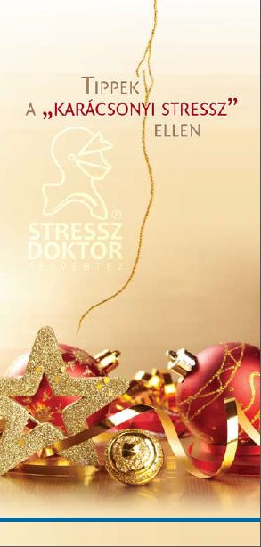 """Tippek a """"karácsonyi stressz"""" ellen - pdf"""