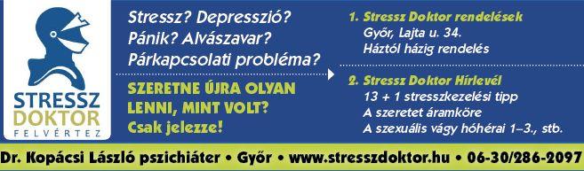 Stressz, depresszió, pánik, fóbia, alvászavar, párkapcsolati probléma - győri pszichiáter, pszichiáter Győr, depresszió, pánik, alvászavar, pszichológus