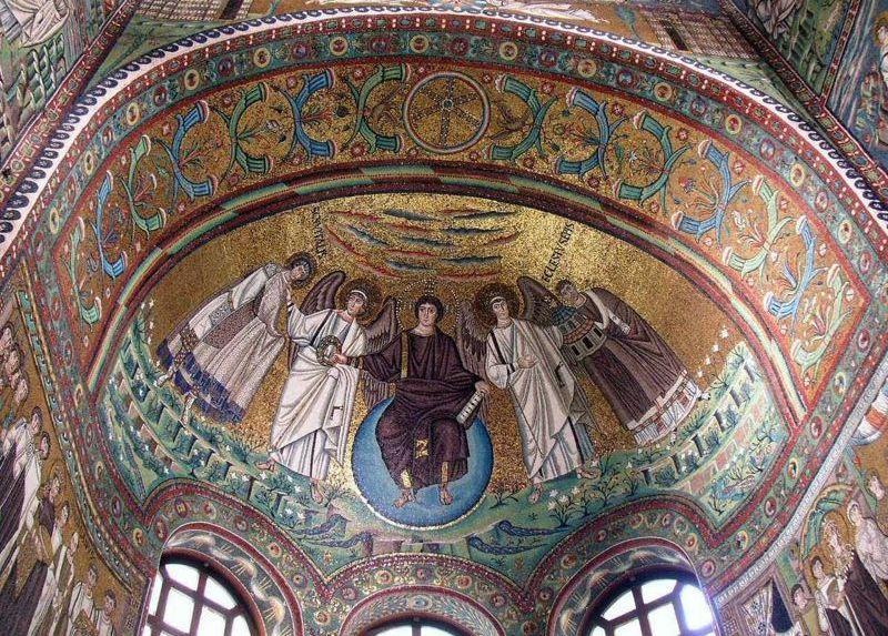 Túláltalánosítás és a Ravennai mozaikok